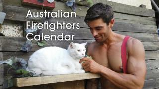 Behind the scene of Australian firefighter 2020 calendar 1 (9 in total)